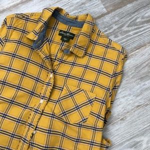 Eddie Bauer  plaid button down
